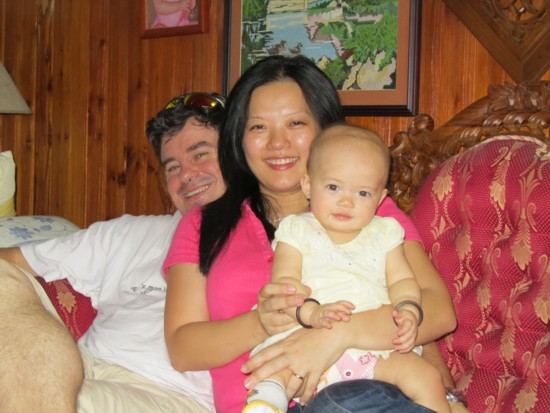 Andrew, Mei Lin and their beautiful Eva