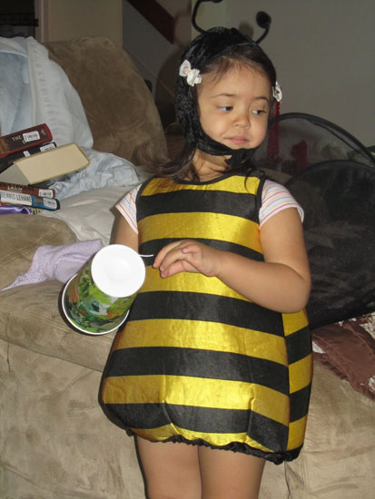 Let's be a buzzy bee!