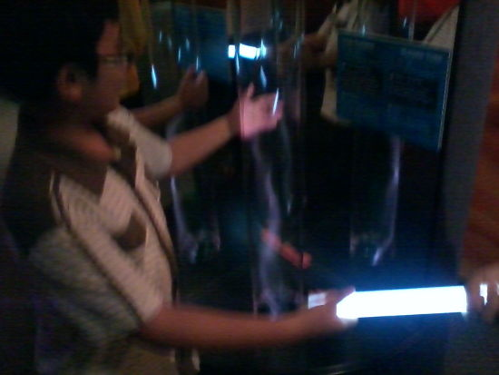 Petrosains has given Irfan electrical superpowers