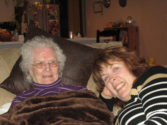 Becky and Aunt Mary