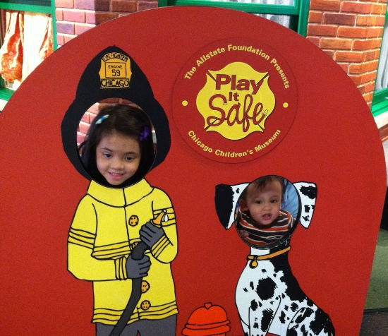 Firefighter Yaya and Dalmatian Adik