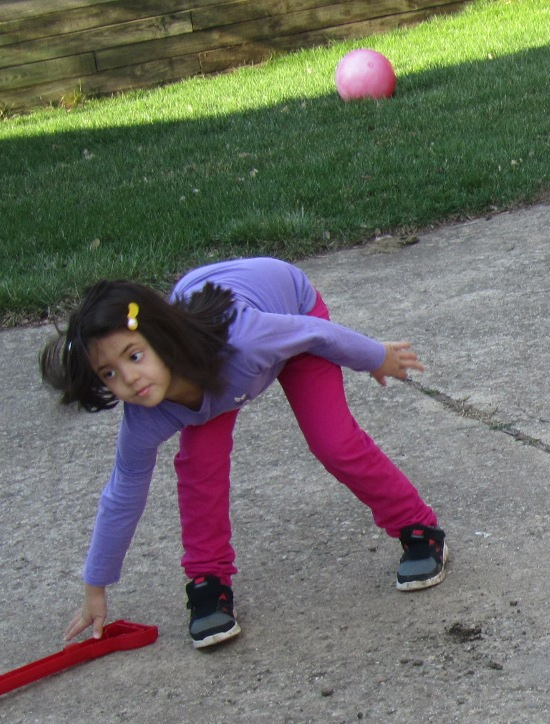 Playing outside