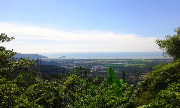 Nice view over Balik Pulau