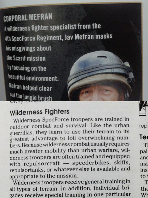 Specforce Wilderness Fighters