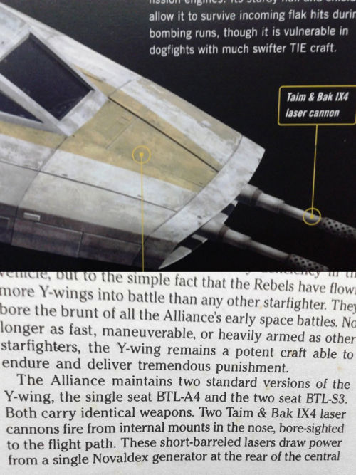 Y-wing cannons