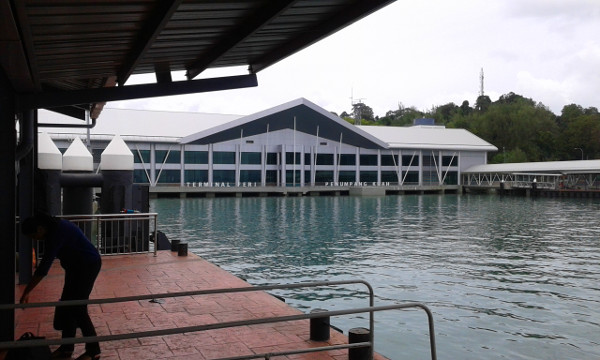 The Kuah Ferry Terminal