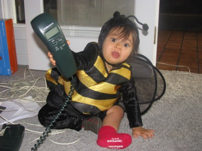 Mama, Queen Bee wants to talk to you!