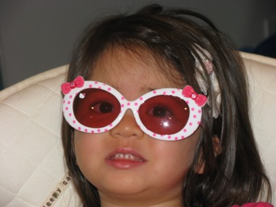 Hello Kitty sunglasses!