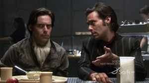 Real Baltar meets Head Baltar