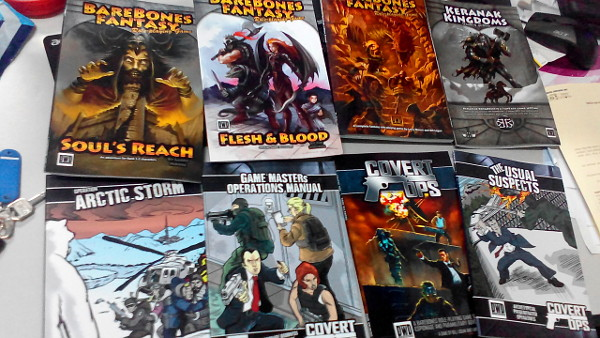 A bunch of awesome digest-sized books!
