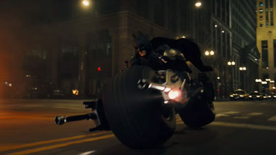 Dunno why's called the Batpod, but it's hella cool