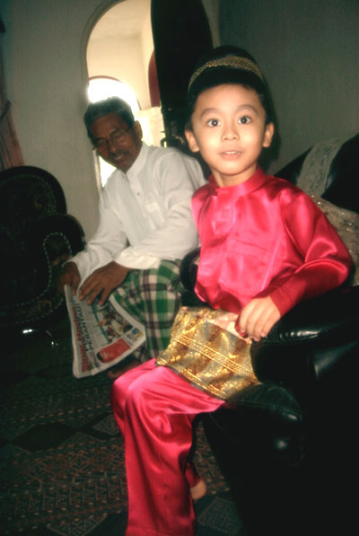 Irfan with Tok Bah