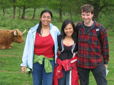 Highland Cattle, Sila, Mei and Colin