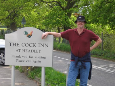 Vin by the Cock Inn sign