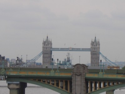The Tower Bridge in the distance