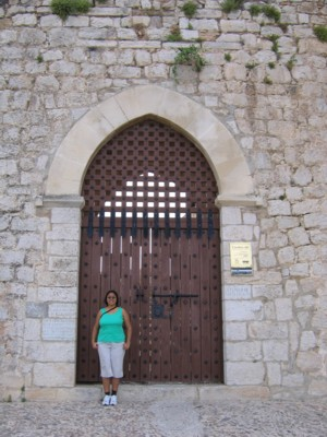Sila by the Castle door