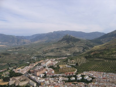View of Jaen