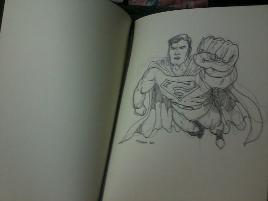 Kryptonian... maybe I'll draw a Daxamite next