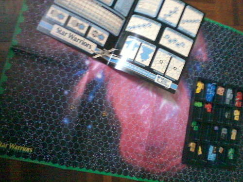 The first Star Wars starfighter combat boardgame!