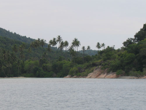 Sejuk mata memandang. One of the beautiful areas we passed on the boat to Redang
