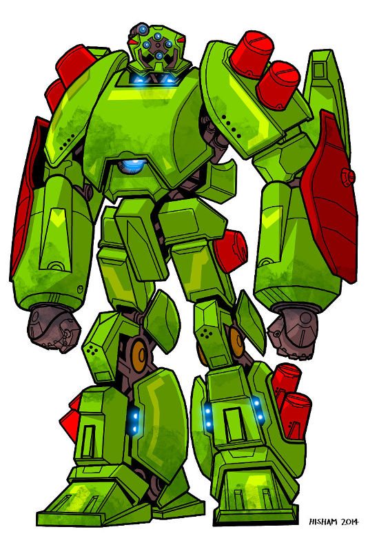 The Strongarm mecha