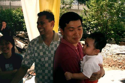 Uncle Warren and Uncle Chew Kian