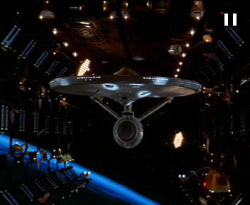 The Enterprise got quite a bit of the limelight