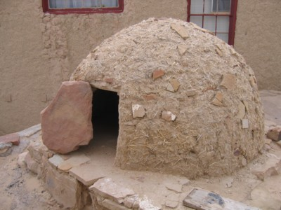Traditional native american oven