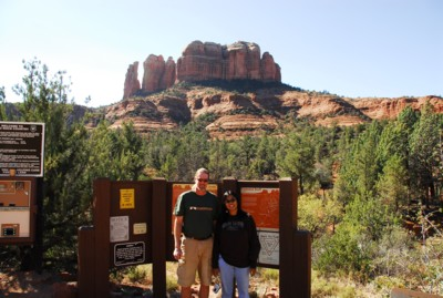 Vin and me at Cathedral Rock