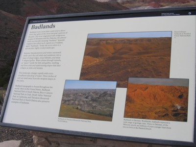 Did you know there were Badlands in Pakistan? Yop, did you see them?