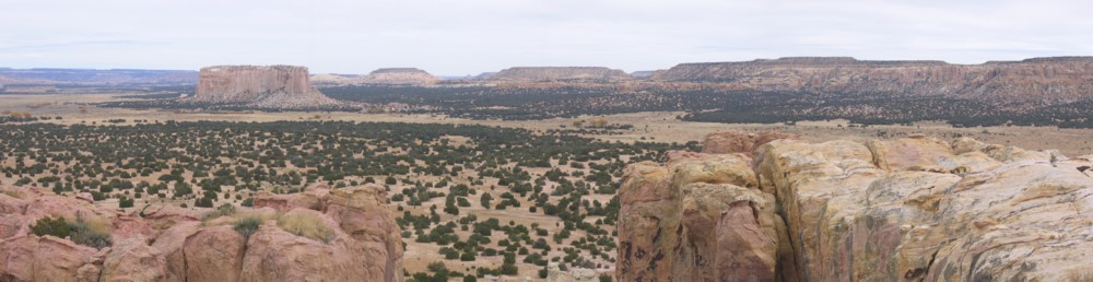More of the spectacular view from Acoma