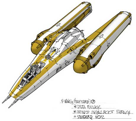 Fully-faired Y-wing