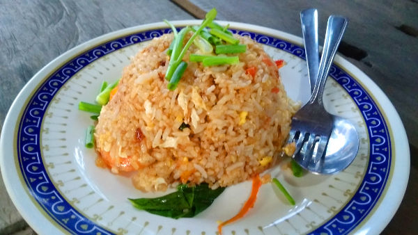 Nasi Goreng... something?