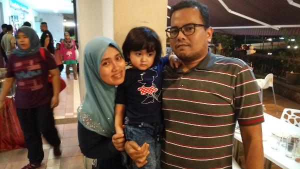 Ania, Mama & Daddy
