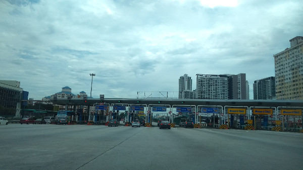 I haven't seen the Sungai Besi toll plaza in ages