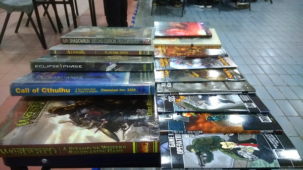 The RPG books