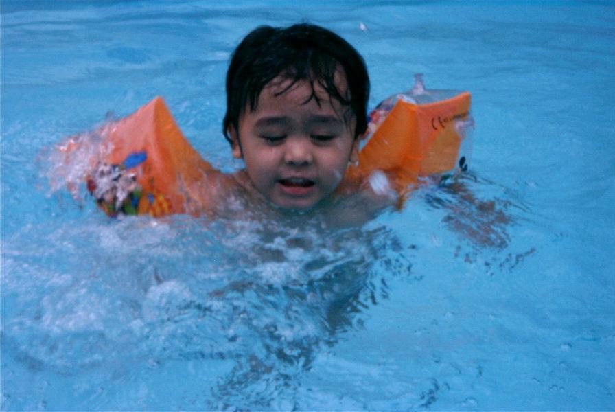 Irfan splashes
