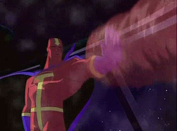 Red Tornado In Action
