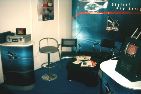 Right view of the booth
