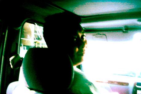 A false colour filtered image of me