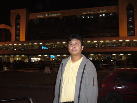 In the airport