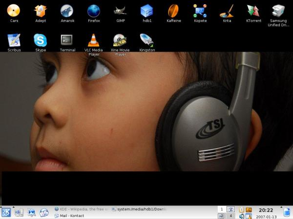 Irfan on the new desktop