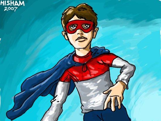 When I grow up I wanna be a superhero