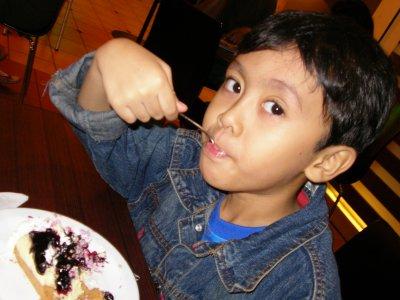 Irfan had cake