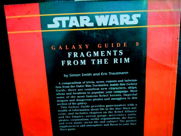 Fragments From The Rim Back Cover