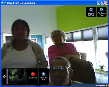 Team Ohio Skype Call