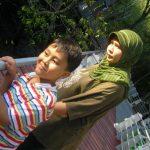 Irfan and Ummi gaze upon pneumatophores