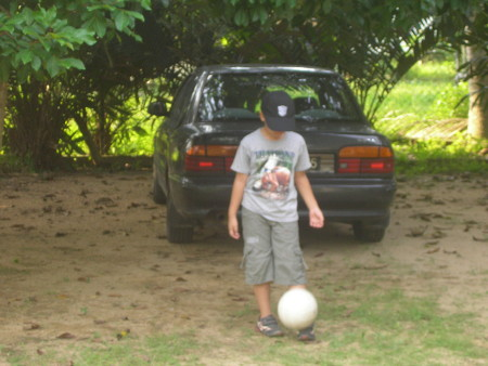 The ball from Sitiawan makes a cameo appearance