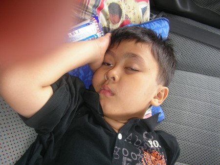 Irfan... on the way home