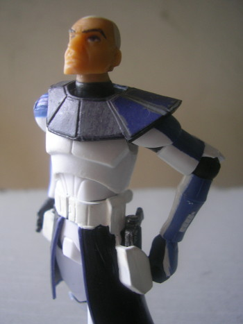 This is CC-7567, nicknamed Rex. His rank is Captain